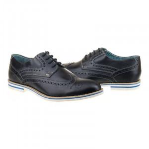 Pantofi office din piele naturala italiana Ermanno