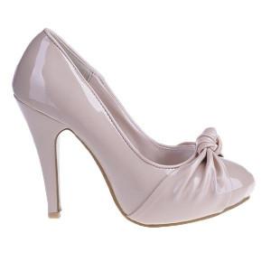 Pantofi Rachel beige/pat