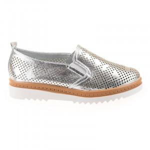 Pantofi sport chic Antonia argintii