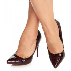 Pantofi stiletto cu toc inalt Amadina