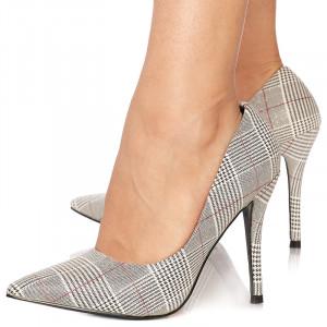 Pantofi stiletto cu toc inalt Graziella