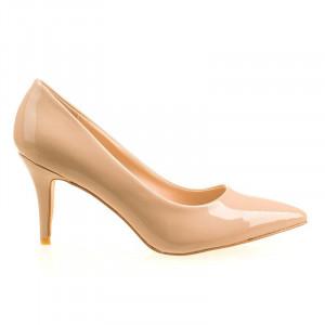 Pantofi stiletto cu toc mediu Amalia