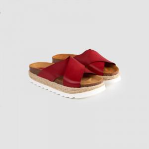 Papuci dama, ANALIA, Rosu
