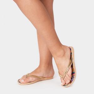Papuci dama LENA, nude