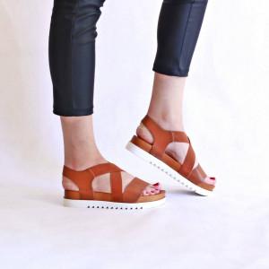 Sandale casual chic Amalia bej