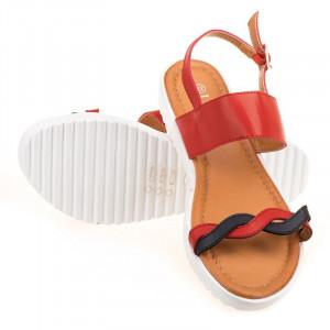 Sandale casual de vara Layla rosii
