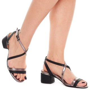 Sandale cu toc mic Gilda