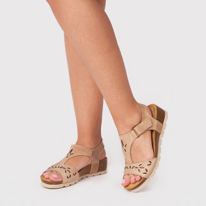 Sandale Dama, COMFO, Beige