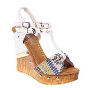 Sandale platforma Anysa beige