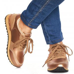 Sneakers Adelle bronze