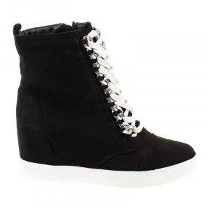 Sneakers cu talpa inalta Bianca