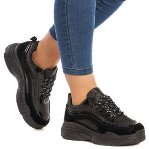 Sneakers dama Bonnie negru