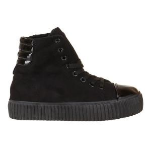 Sneakers din velur Tina