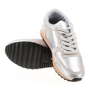 Sneakers Tiffany argintiu