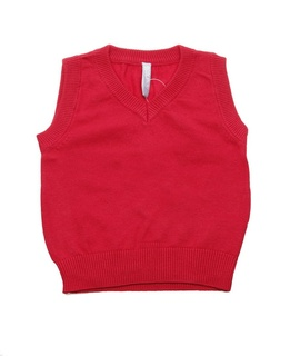 Vesta red Casual Fun