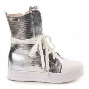 Sneakers inalti Layla arginto