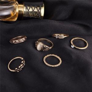 Bijuterii tip inel in set de 6 buc Vintage