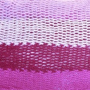 Fular Penia white pink