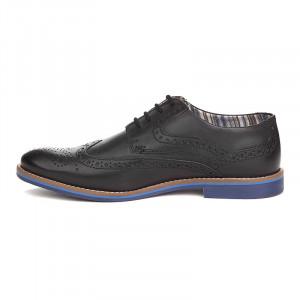 Pantofi barbati din piele naturala Antonio negru