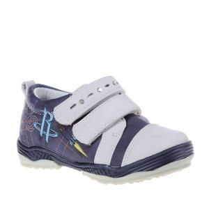 Pantofi copii Sonic b beige/blue marimi 21-26