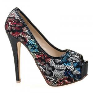 Pantofi cu platforma snake Anita