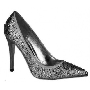 Pantofi dama eleganti gri