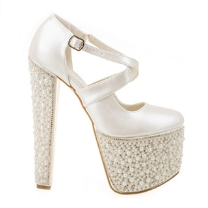 Pantofi de mireasa cu platfroma Bianca