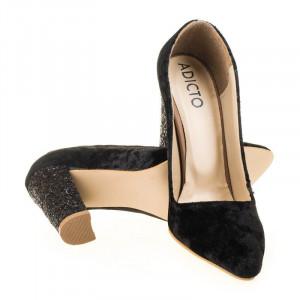 Pantofi de ocazie din velur Gia