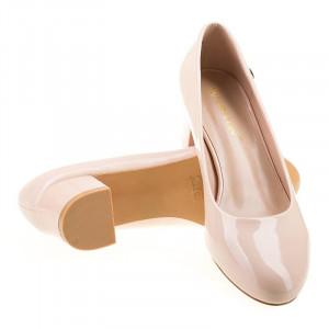 Pantofi office cu toc mic Bianca