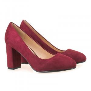 Pantofi office din velur Tina