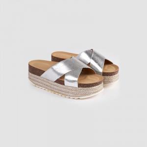 Papuci dama, ANALIA argintiu