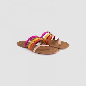 Papuci dama, IDALIA, Beige
