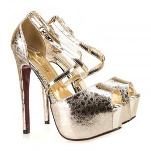 Sandale cu platforma la moda Gea