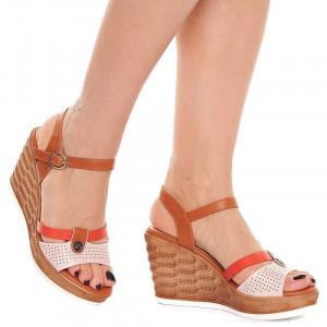Sandale cu platforma Olivia