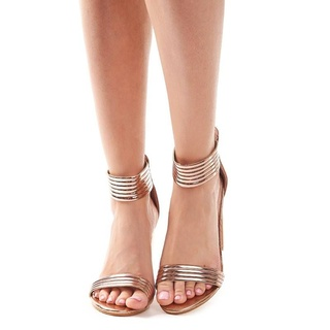 Sandale cu toc gros elegante Amalia