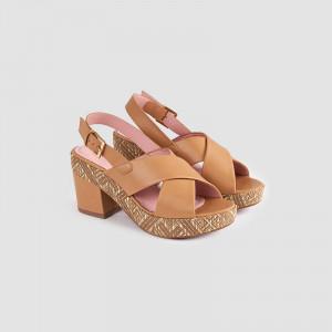 Sandale dama, ALMIRA, Beige