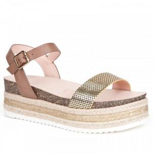Sandale Dama, Auriu