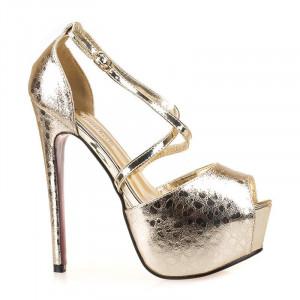 Sandale dama cu platforma la moda Gea