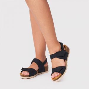 Sandale Dama, INA, Negru