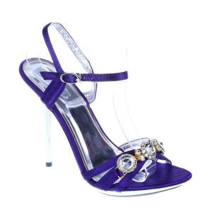 Sandale ocazie Daria mov