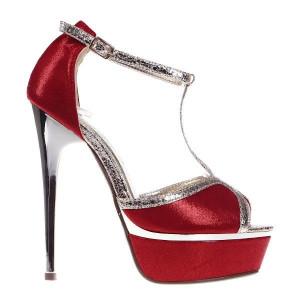 Sandale rosii Heidi