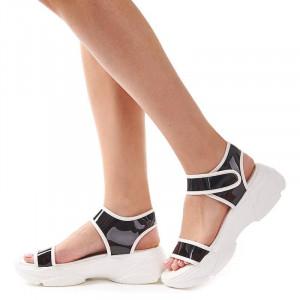 Sandale trendy cu talpa sport Camelia