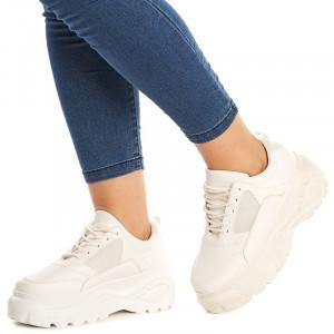 Sneakers Chloe alb