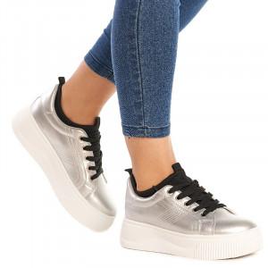 Sneakers dama Martina argintiu