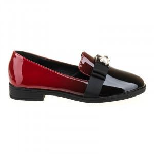 Mocasini la moda Bianca red