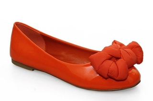 Balerini dama orange Amaris.