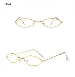 Ochelari de soare retro vintage Antonia auriu