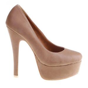 Pantofi Annaliz brown