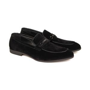 Pantofi Barbati Loafer din Velur Alberto