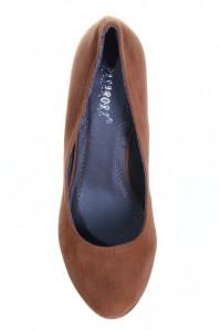 Pantofi camel Krysti